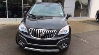 2016 Carbon Black Metallic Buick Encore Leather For Sale In Westlock Stock # 16T136