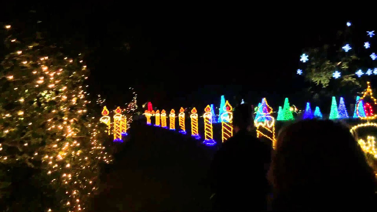 Bellingrath Gardens Christmas Lights 2015 18 Youtube