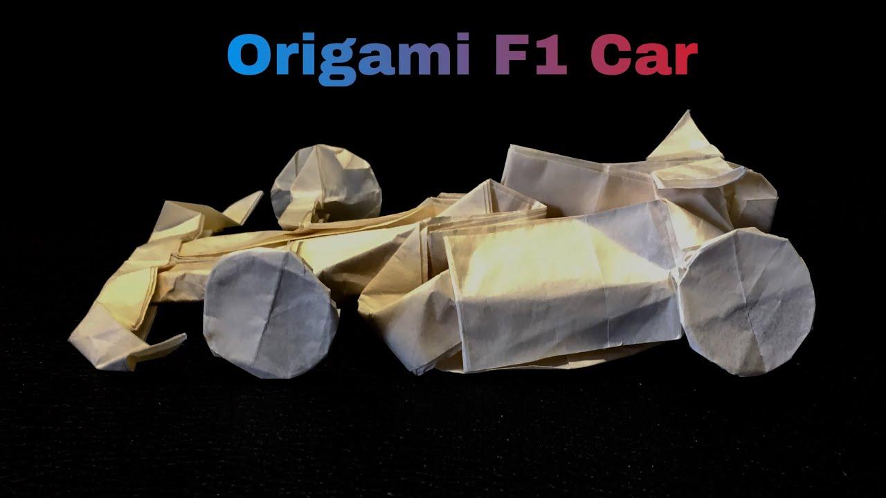 origami car | ペーパークラフト, 折り紙 | 720x1280