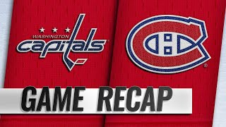 Canadiens take down Caps in 5-2 win