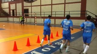 Entrenamiento combinado Futbol sala