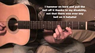 Leather Britches guitar lesson on Johnson JD27 guitar