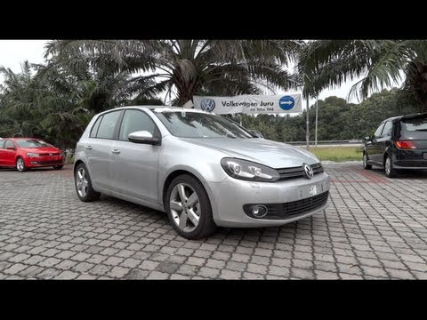 2012 Volkswagen Golf TSI SE Start-Up and Full Vehicle Tour