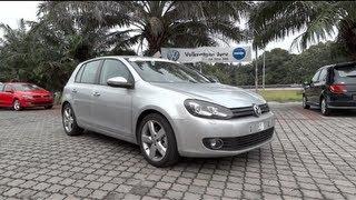 2012 Volkswagen Golf Tsi Se Start-Up And Full Vehicle Tour