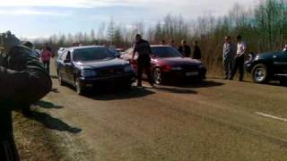 Toyota Crown 4wd Turbo Vs. Chaser Rwd Turbo
