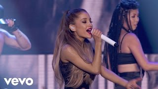 "Ariana Grande performs ""Problem"" live on the Honda Stage at the iHe..."