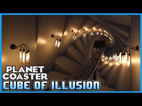 CUBE OF ILLUSION!! Coaster Spotlight 09 #PlanetCoaster