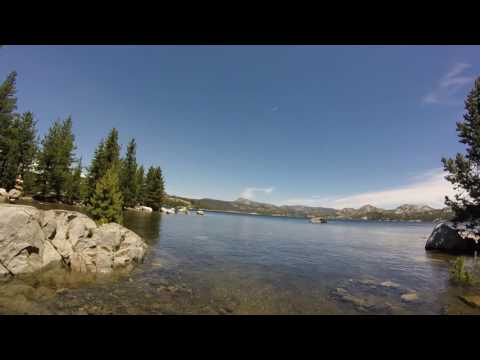 Loon Lake Island Beach