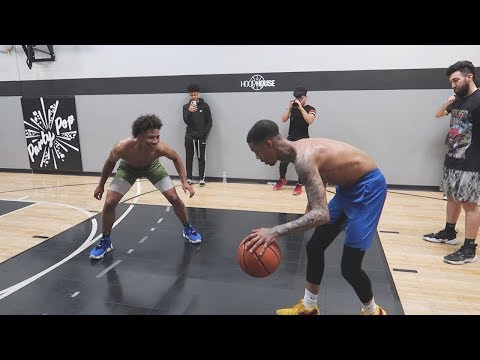 1V1 AGAINST Mikey Williams!