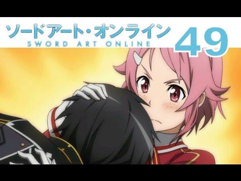 Sword Art Online: Hollow Fragment - PS VITA Walkthrough 49 - Lisbeth Hugs  Kirito, Snap Out Of It!