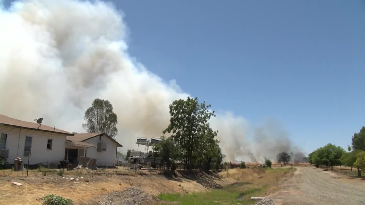 Fresno County firefighters responding to more grass fires as fire season heats up