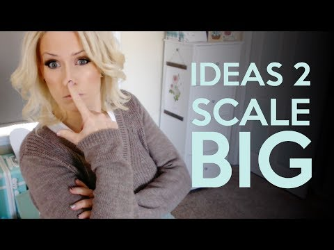 Scaling your handmade business - automation and going big time