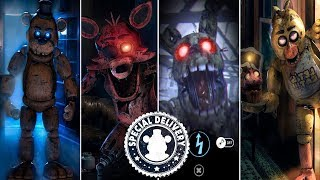 Five Nights at Freddy's AR: Special Delivery - ALL ANIMATRONICS