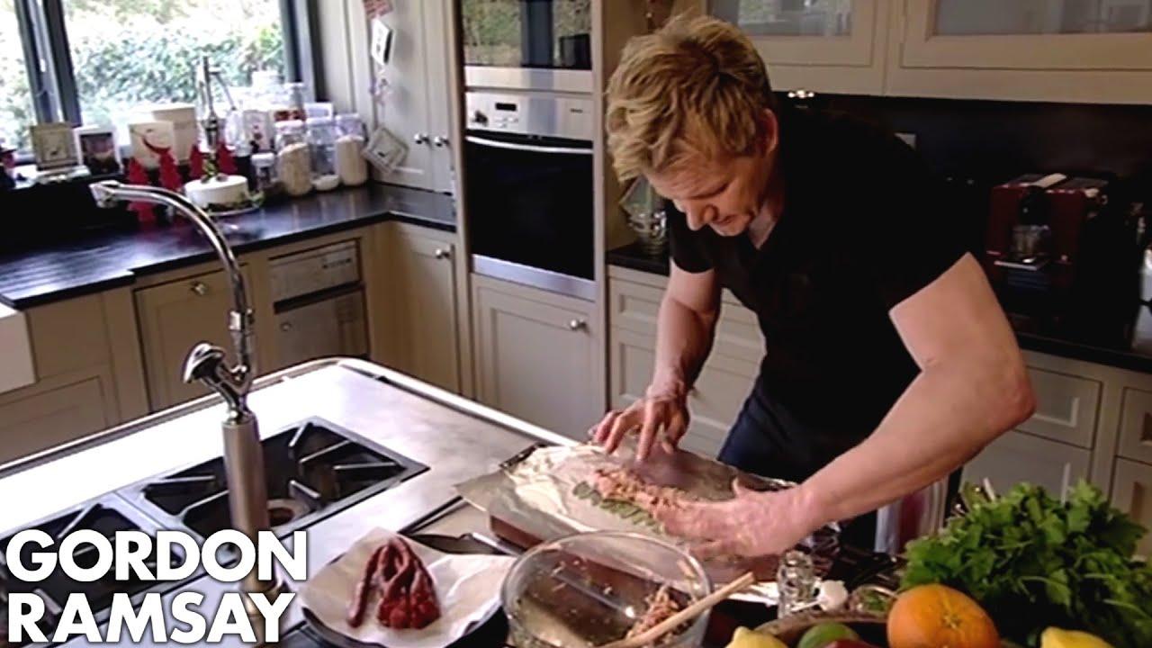 Gordon Ramsay Christmas Dinner.Gordon Ramsay 3 Christmas Dishes With A Twist