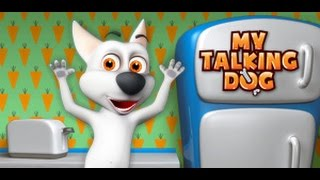 Говорящая Собака! Мой виртуальный питомец! Серия 6! Крестики Нолики И собака против шипов!