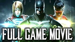 Injustice 2: Full Game Movie! [I2: All Cutscenes - Entire Story Mode Footage]