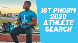 | 2020 1st Phorm | Athlete Search | My story on how I turned a negative | into a positive!