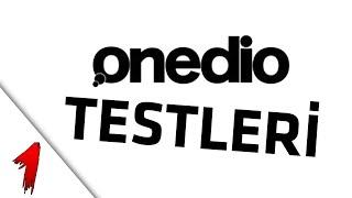 ONEDIO TESTLERI (LAHMACUNMU PIZZAMI)