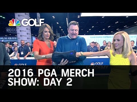 Morning Drive: Best of Day 2 PGA Merchandise Show 2016 | Golf Channel