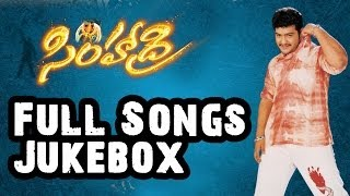 Simhadri (సింహాద్రి) || Telugu Movie Full Songs Jukebox  || Jr.Ntr, Bhoomika, Ankitha