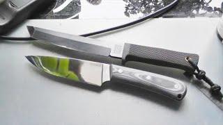 Приехал нож WK-5 от WorkingKnife: распаковка и первые впечатления