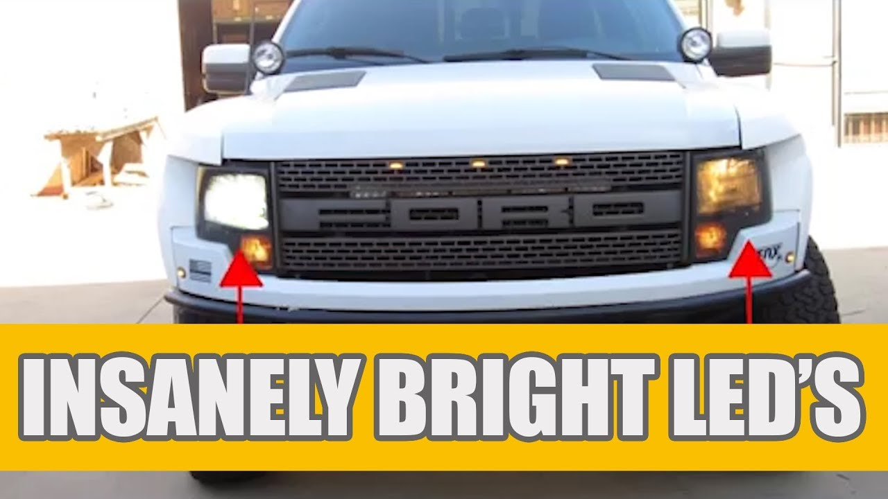 H13 9008 CREE LED Headlight Conversion Kit for Ford F150 2004-2014 High Low Beam