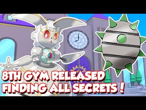 8TH GYM RELEASED! SOLVING ALL SECRETS LIVE! - POKEMON BRICK BRONZE - Roblox