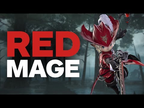 Final Fantasy 14: Stormblood - 2 Minutes of Red Mage Gameplay