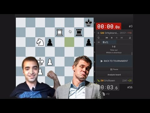 Playing the World Chess Champion in Chess960