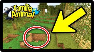 Minecraft: O BURACO MAIS PERIGOSO DO MINECRAFT !! - FAMÍLIA ANIMAL #16