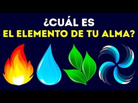 ¿Cuál es el elemento de tu alma?
