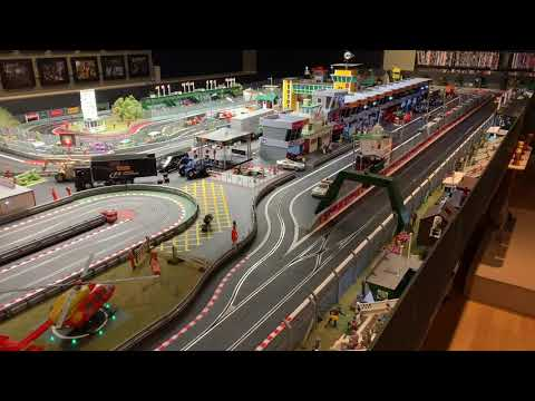 Thatchers Raceway – Giant Digital Scalextric Set – Jadlam Racing Models