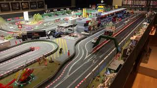 Thatchers Raceway - Giant Digital Scalextric Set - Jadlam Racing Models