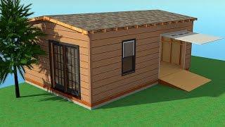 Каркасный гараж своими руками - пошаговая инструкция с фото, схемами и видео
