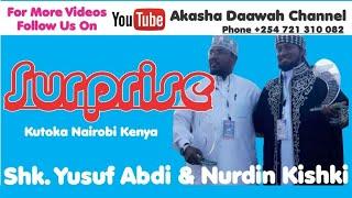 SURPRISE KUTOKA KWA SHK NURDIN KISHKI NA YUSUF ABDI...NAIROBI ISLAMIC CONFRENCE 13 11 2016