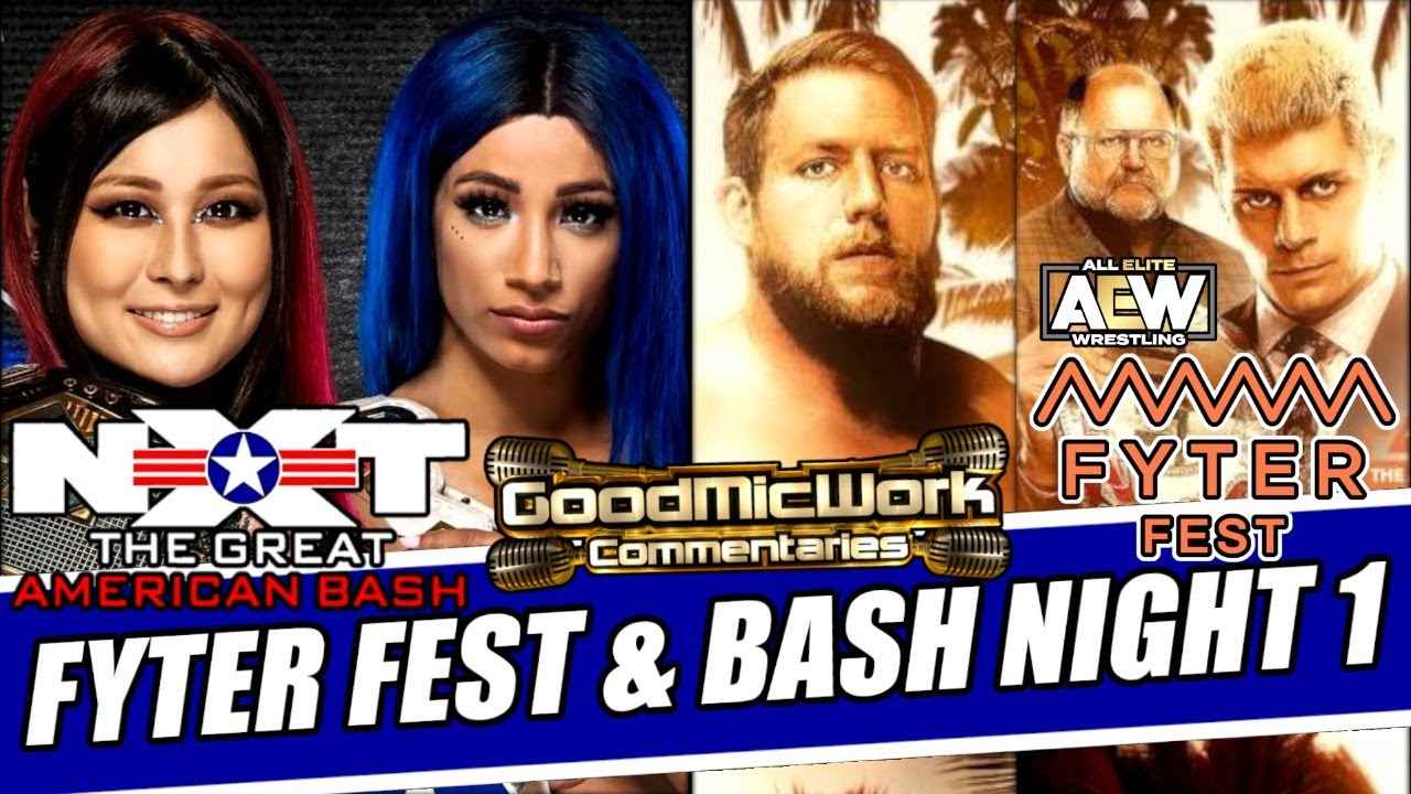 AEW Fyter Fest & NXT Great American Bash Night 1 Full Show Review