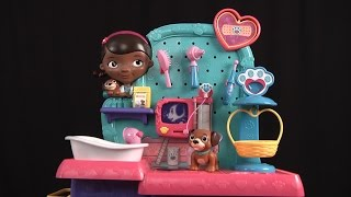 Doc McStuffins Pet Vet Checkup Center from Just Play