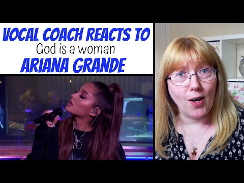 Vocal Coach Reacts to God is a Woman Ariana Grande in the BBC  Lounge