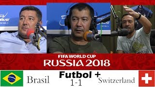 Футбол плюс (17.06.2018) Бразилия 1-1 Швейцария