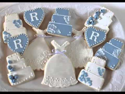 Wedding Shower Cookies Ideas