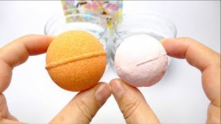 Bath Bomb Battle Disney Minnie Mouse vs Kumamon