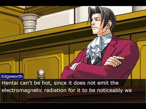 Hentai ace attorney Take that