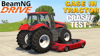 beamng drive tractor case ih magnum 380 cvx car crush