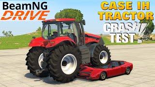 beamng drive tractor case ih magnum 380 cvx car crush