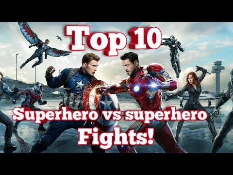 top-10-superhero-vs-superhero-fights!!!