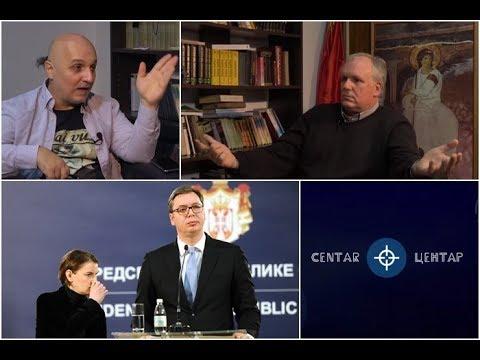 U CENTAR Vučića brine to što 75% naroda ne da Kosovo! (Branko Pavlović)