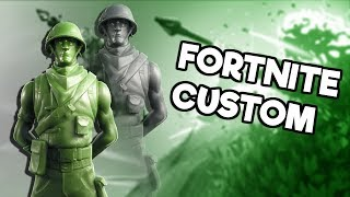 EVENING FORTNITE CUSTOM LIVE BROADCAST TOMORROW MORNING SKIN GIFTELAND!!!!