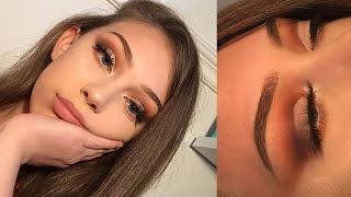 Neutral half cut crease | Eyeshadow tutorial