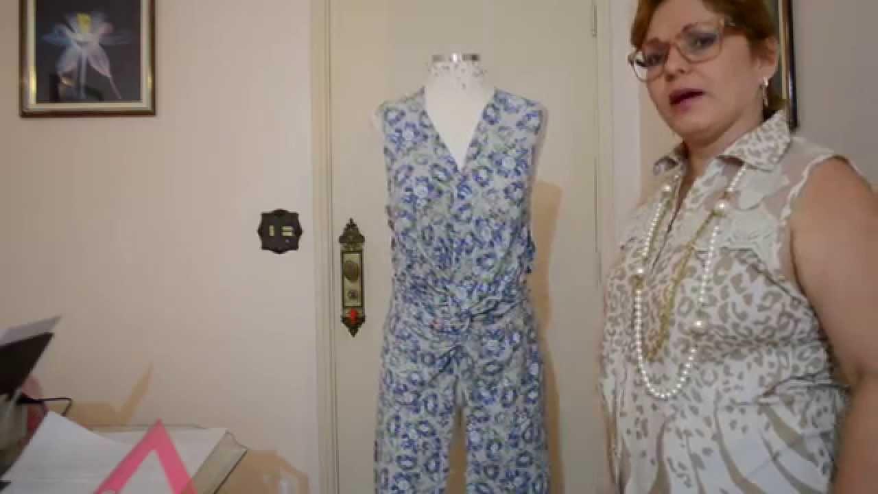 77fdd4b00 DIY   Vestido com drapeado torcido na frente - Aula 52 - YouTube