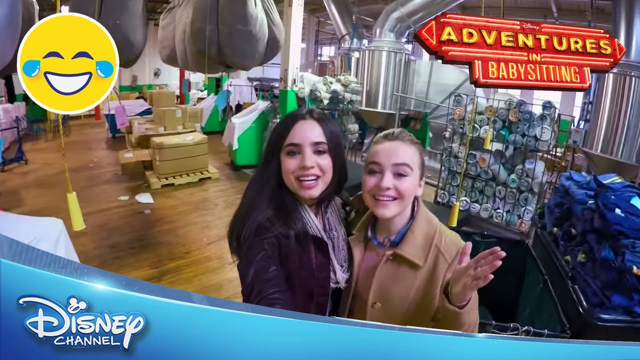 Adventures In Babysitting On The Set Official Disney